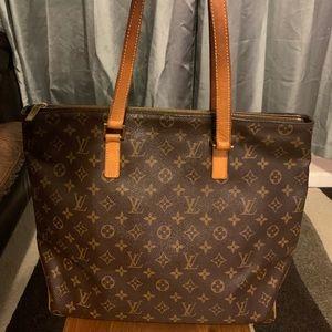 Authentic Louis Vuitton Cabas Mezzo tote bag
